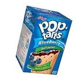 Kellogg's Pop Tarts Unfrosted Blueberry Toaster Pastries 14.