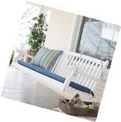 Porch Swings On Sale White 4 Foot Wood Cottage Farmhouse