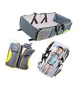 Travel Portable Bassinet- 3 in 1 Diaper Bag Crib & Changing