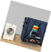 Portable Closet Storage Organizer Clothes Shoe Wardrobe Rack