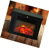 Portable Electric Fireplace Free Standing Tabletop Heater