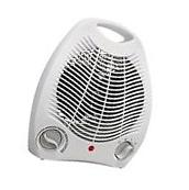 Portable Electric Space Heater 3 Settings 1500w Fan Forced