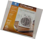 Portable Fan Forced Heater Electric Hot Space Room Office