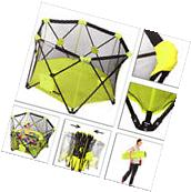 Portable Playpen Baby Folding Play Yard With Travel Bag