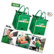 2 Pack Portable Grab Bag Shopping Original Reusable