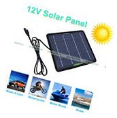 5W 10W 20W 100W Portable Solar Panel Battery Charge Backup