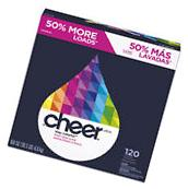 Cheer Powder Laundry Detergent Fresh Clean Scent 169oz Box 2