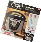 New Digital Power Pressure Cooker XL Electric 8 Quart