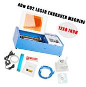 High Precision 40w Co2 Laser Engraving Cutting Machine