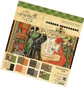 PREORDER Graphic 45 Master Detective 12x12 Paper Pad