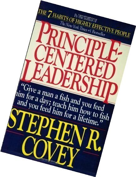 Principle-Centered Leadership 1st  Fireside Edition by Covey