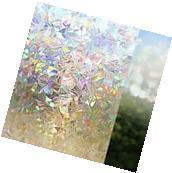 Privacy Window Glass Cover Film No Glue Static Cling