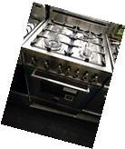 "Bertazzoni PRO244GASX 24"" Pro-Style Stainless Steel Gas"