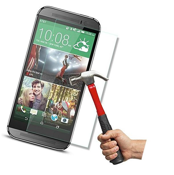 HTC One M8 Screen Protector,InaRock 0.26mm 9H Tempered Glass