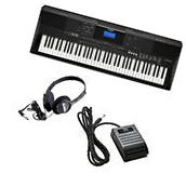 Yamaha PSR-EW400 Portable Keyboard KEY ESSENTIALS BUNDLE