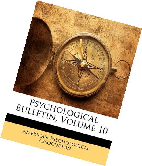 Psychological Bulletin, Volume 14