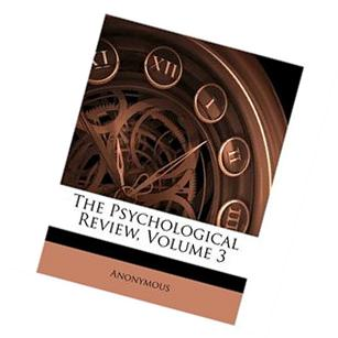 Psychological Review, Volume 21