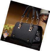 New Fashion Women's PU Leather Handbag Shoulder Bag Tote
