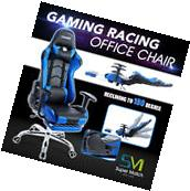 PU Leather Office Gaming Chair Ergonomic Computer Desk Task