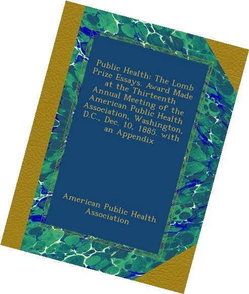 Public health essays