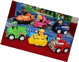 6pc Pull Back Nickelodeon Paw Patrol Marshall Rubble Chase