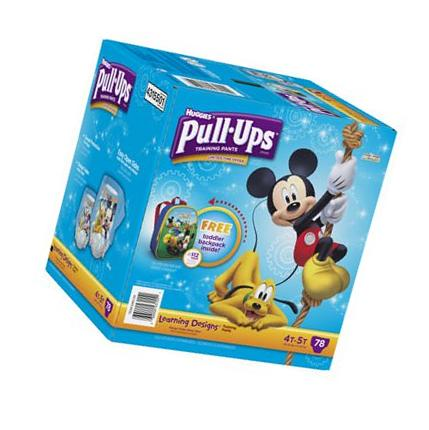 Huggies Pull Ups Learning Design 4t 5t 72 Pack