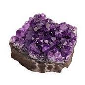 rockcloud Natural Purple Amethyst Quartz Crystal Cluster