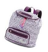 Capezio Purple Tutu Ballet Dance / School Bag, Style B148C