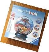 """Ravensburger Puzzle Ball #110124 Ocean World 6"""" 3D Jigsaw"""