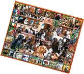 White Mountain Puzzles World of Dogs - 1000 Piece Jigsaw