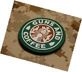 PVC Guns and Coffee Morale Patch Walking Dead Undead VELCRO