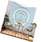 Queen Mandala Tapestry Indian Wall Hanging Bohemian Hippie
