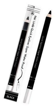 Mei Linda Quick Eyeliner Super Waterproof Black
