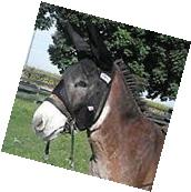 Cashel Quiet Ride Fly Mask With Ears for Mule/Donkey - Size