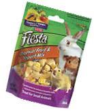 KAYTEE PET Rabbit/Guinea Pig Treats, Hay Plus Carrots, 24-oz