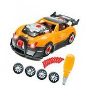Innovative Brain Racing Car Take-A-Part Toy For Kids with 28