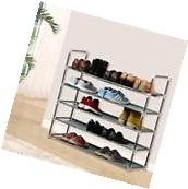 New Shoe Rack Organizer Storage Pairs Shoes Shelves Space 5