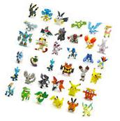 US Lot Of 48 PCS Random Pokemon Monster Action Figure