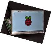 Makerfire 7 inch Raspberry Pi RPI Acrylic Case for LCD