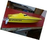 rc boat NEW MONO HULL, fully asm. Less electrics. Steering