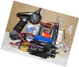 RC Jet Boat Complete Brushless with Flex UPGRADE KIT for NQD