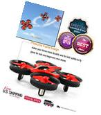 RC Quadcopter Drone Headless Fast Flying 4CH 6-Axis Gyro 2.