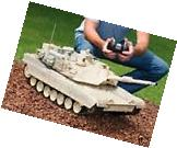 RC Tank M1A2 Abrams USA Airsoft Tank Toy 16 Military Battle