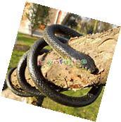 130Cm Real Rubber Toy Fake Snake Safari Garden Prop Joke
