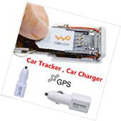 Real Time GPS Tracker GSM GPRS System Car Charger Tracking
