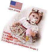 Realistic Handmade Baby Dolls Girl Newborn Lifelike Vinyl