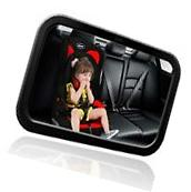 Large Baby rear view Mirror For Car - to See Babies and