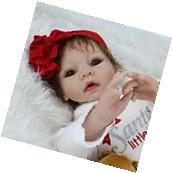 "Reborn Baby Dolls 22"" Lifelike Soft Vinyl Real Life Looking"