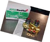 "Asco Red Hat II EFHT8344G080 3/8"" 4 Way Dual Solenoid Valve"