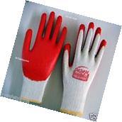300 Pairs PREMIUM Red Latex Rubber coat Palm Coated Work